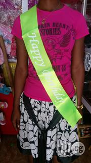 Happy Birthday Sash | Clothing Accessories for sale in Lagos State, Ikeja