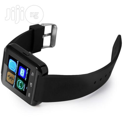 Universal Android Compatible U8 Bluetooth Smart Watch - Black | Smart Watches & Trackers for sale in Surulere, Lagos State, Nigeria