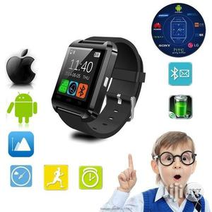 U8 Bluetooth Smart Watch Touch Screen For Android And Ios (Black)   Smart Watches & Trackers for sale in Lagos State, Surulere