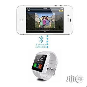 Universal U8 Bluetooth Smart Wristwatch Android Compatible - White | Smart Watches & Trackers for sale in Lagos State, Surulere