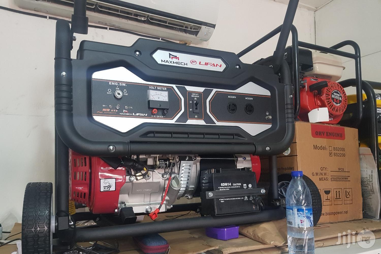 Maxmech Petrol Key Start Generator 6.5 Kva