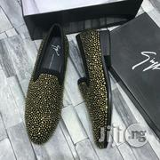 New Giuseppe Zanotti Gold Stone Chrome Loafers | Shoes for sale in Lagos State, Ojo