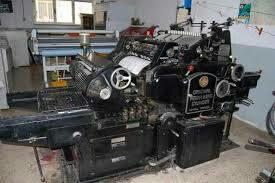 Dy-Cutting Machine (Printing Machine)