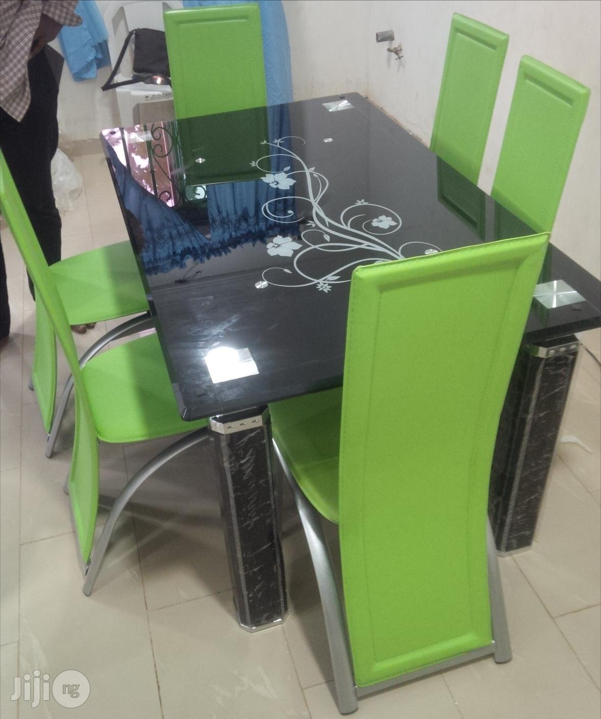 Imported Dining Table by Six Chairs