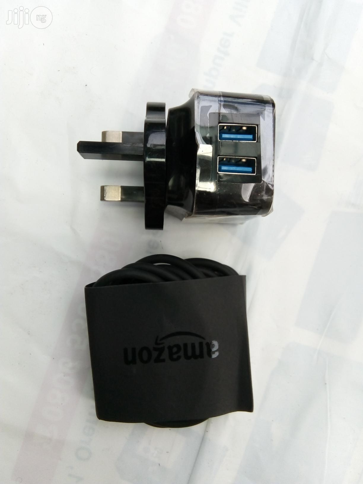 Double USB Charger 5v 2amp