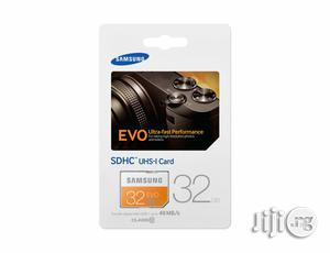 Genuine Samsung SDHC Uhs-1 Card 32GB Memory   Accessories for Mobile Phones & Tablets for sale in Lagos State, Ikeja