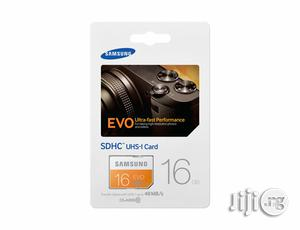 Genuine Samsung Micro SDHC UHS-1 16GB Memory   Accessories for Mobile Phones & Tablets for sale in Lagos State, Ikeja
