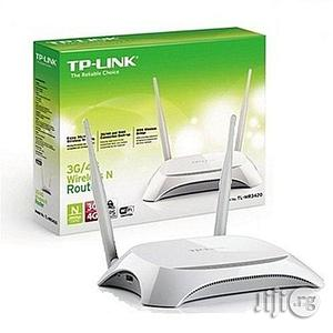 Tp-link 3G/4G Wireless Router - TL-MR3420 | Networking Products for sale in Lagos State, Ikeja