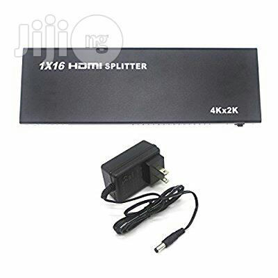 HDMI Splitter 1in16 Out 16 Port 1*16 Full HD 1080p Hdmi 1.4 Splitter | Accessories & Supplies for Electronics for sale in Ikeja, Lagos State, Nigeria