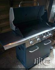 Barbecue Grill Machine 4 Burner With Side Cooker   Restaurant & Catering Equipment for sale in Lagos State, Ojo