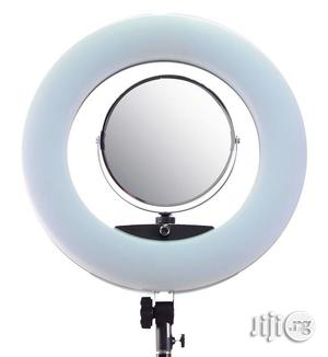 """Bright 18"""" Dimmable Makeup / Studio Ring Light With Mirrow   Accessories & Supplies for Electronics for sale in Lagos State, Lagos Island (Eko)"""