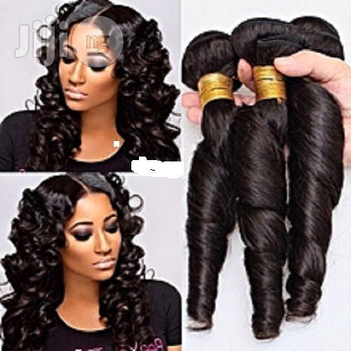 Hair Brazillian Romance Curls Human Hair - COL.1b/ 6bundles