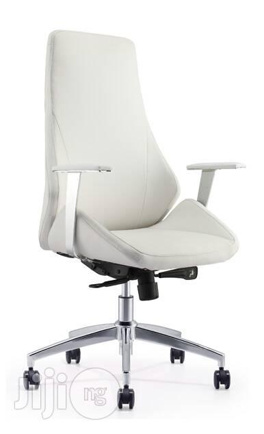 Italian White Executive Office Chair
