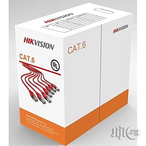 Hikvision Network Cat6 Cable 305M/Rolls Pure Copper | Accessories & Supplies for Electronics for sale in Lagos State, Ikeja