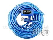 USB 2.0 Extension Data Cable (10 Meters) | Accessories & Supplies for Electronics for sale in Lagos State, Ikeja