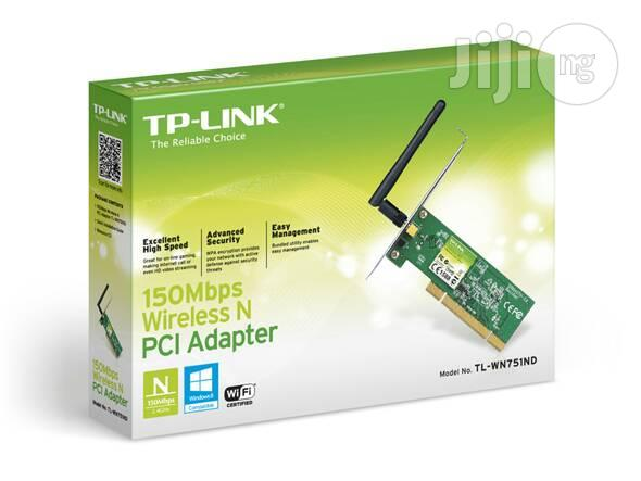 Tp Link 150mbps Wireless N PCI Adapter.Model;TL-WN751ND