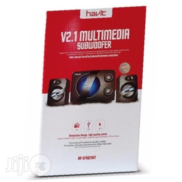 Havit V2.1 Bluetooth Multimedia Subwoofer - HV-SF5625BT | Audio & Music Equipment for sale in Ikeja, Lagos State, Nigeria