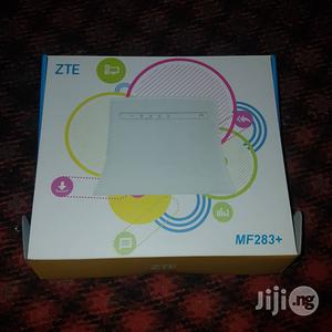 ZTE MF283+ 4G LTE Universal Router/CPE For Ntel, Glo LTE And Others | Networking Products for sale in Lagos State