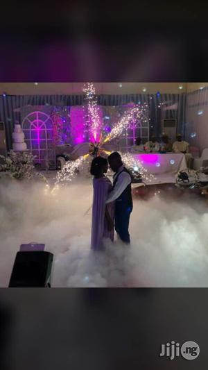 Low Fog Machine For Your Event Available For Rent | Stage Lighting & Effects for sale in Lagos State, Mushin
