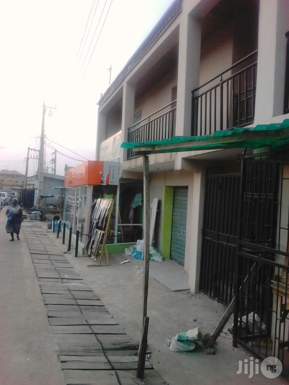 Clean and Spacious Shop With Toilet at Ojodu Berger
