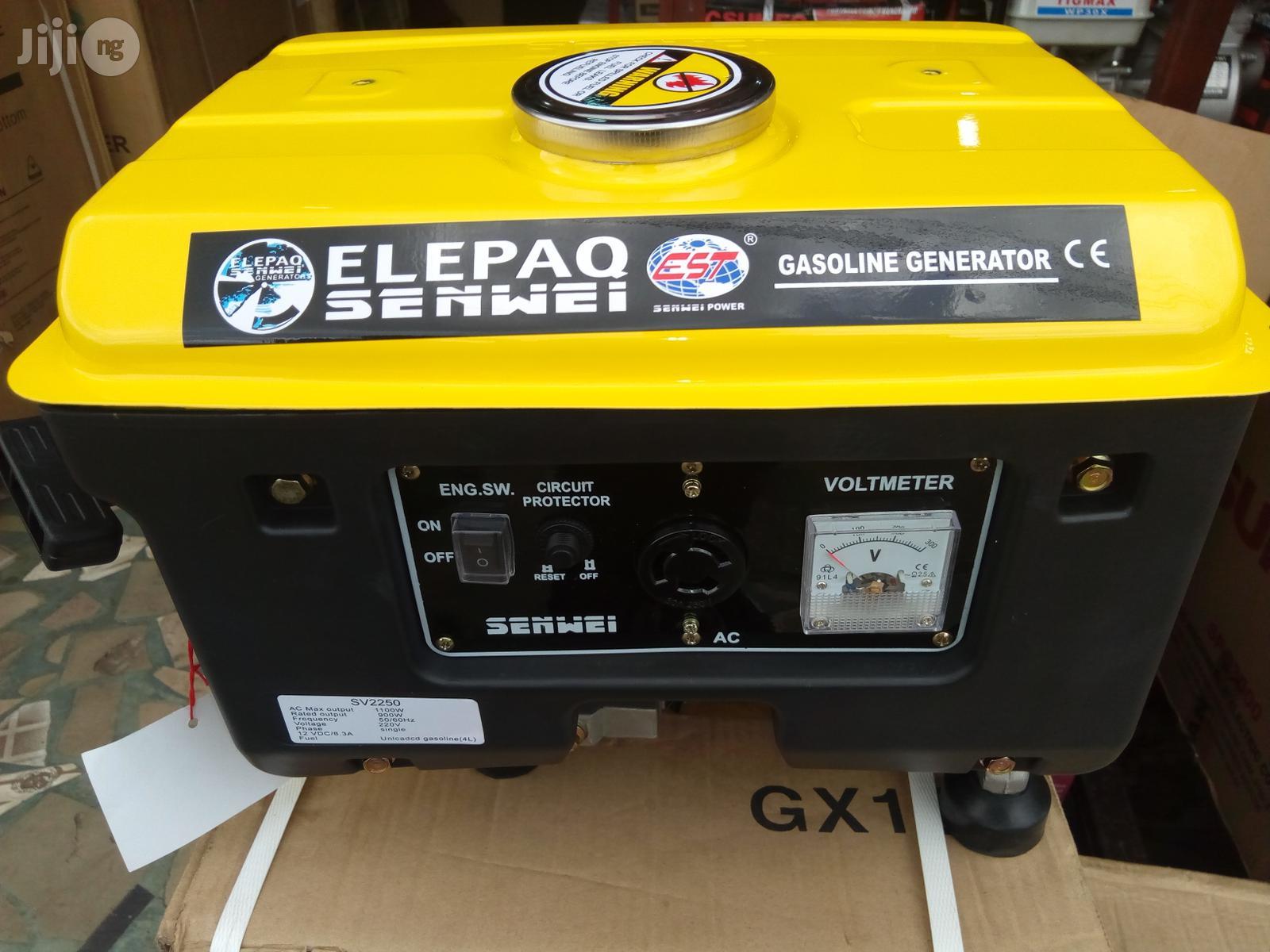 ELEPAQ Senwei Generator Model 1850 (1.1kva)