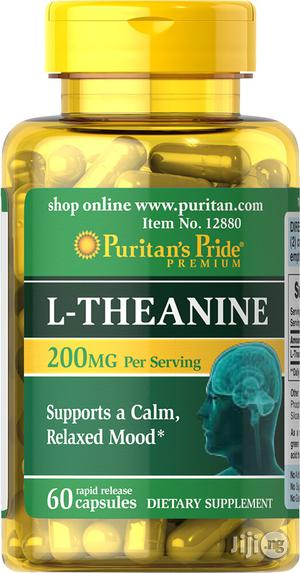 L-Theanine for Stress Relief, Sleep and Improving Brain Function | Vitamins & Supplements for sale in Lagos State, Victoria Island