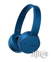 Sony - Mdr-zx220bt Bluetooth Nfc Headphones - Blue | Headphones for sale in Lagos State