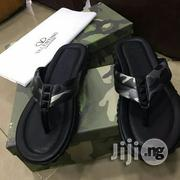 Valentino Rouge Sole Palm Slippers | Shoes for sale in Lagos State, Ojo