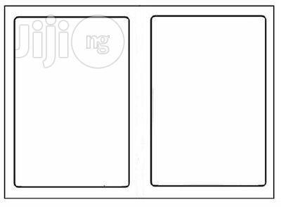 USA 2-UP Labels Adhesive Blank Shipping Labels 2 Per Sheet 8.5 X 5.5