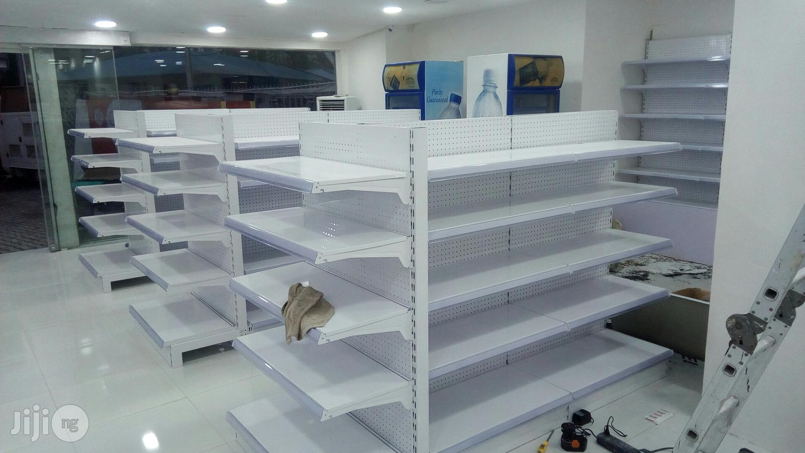 High Quality Supermarket Shelves | Store Equipment for sale in Gwarinpa, Abuja (FCT) State, Nigeria