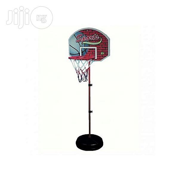 Basketball Play Set For Kids With Ball And Inflator