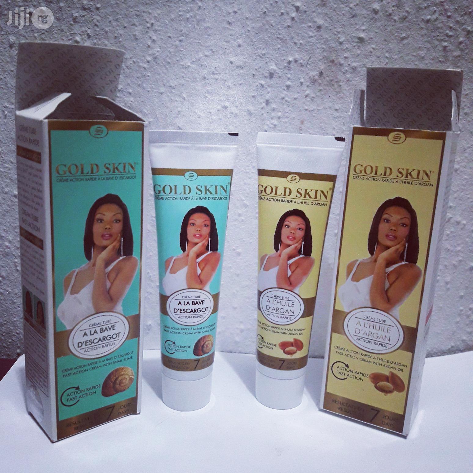 Archive: Gold Skin Cream Tube- Argan Oil/Snail Slime - 50G