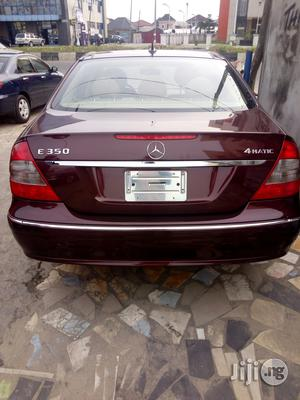 Mercedes-Benz E350 2008 Red   Cars for sale in Rivers State, Port-Harcourt