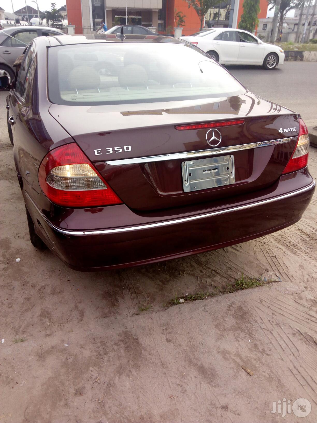 Mercedes-Benz E350 2008 Red | Cars for sale in Port-Harcourt, Rivers State, Nigeria
