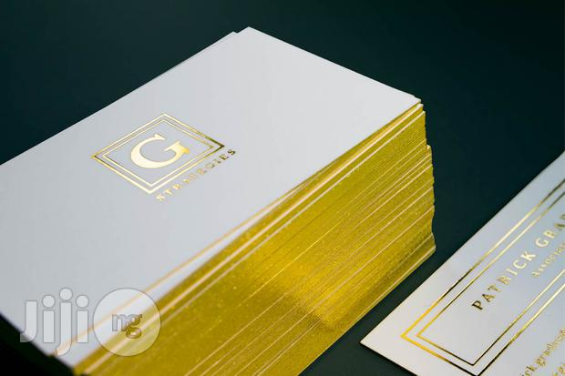 Branded Colored Edge Business Cards For Companies And Personal Brand