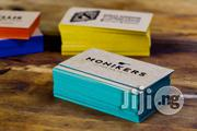 Branded Colored Edge Business Cards   Stationery for sale in Lagos State