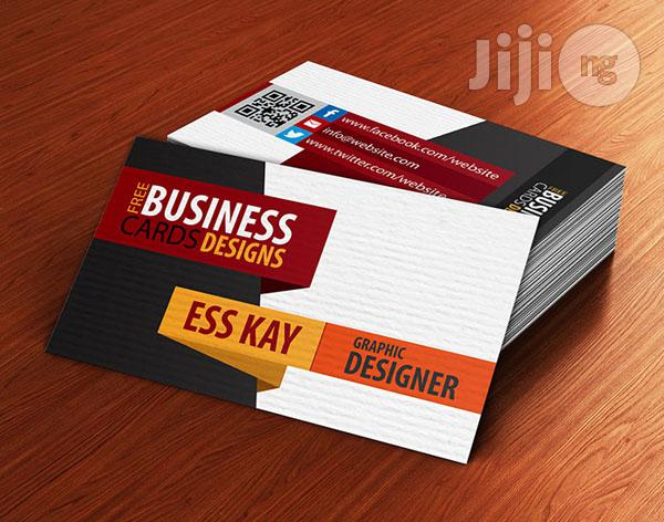 Branded Matte Complementary/Business Cards For Companies (100 Pieces)