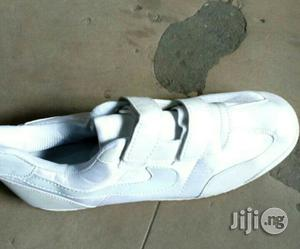 Good Quality Plan White Canvas   Shoes for sale in Lagos State, Ikeja