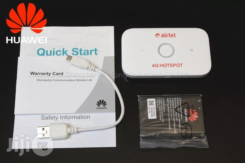 Huawei E5573cs-609 4G LTE for Swift, Spectranet Others | Networking Products for sale in Ikeja, Lagos State, Nigeria