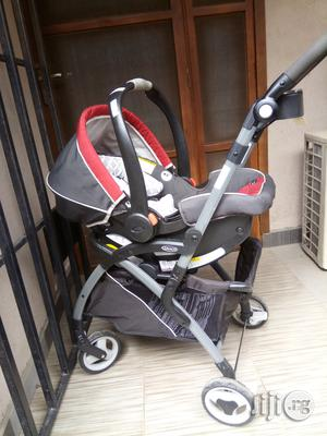 Tokunbo UK Used Graco Baby Car Seat With Stroller | Prams & Strollers for sale in Abuja (FCT) State, Asokoro