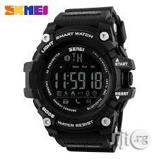 Skmei Men Smart Watch Android IOS | Smart Watches & Trackers for sale in Ikeja, Lagos State, Nigeria