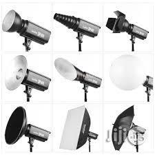 Set Of Godox Studio Light / Studio Strobe DE300 With Trigger | Accessories & Supplies for Electronics for sale in Lagos Island, Lagos State, Nigeria