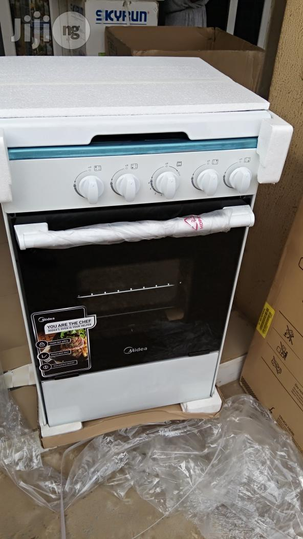 Midea Gas Cooker 4 Gas Bouner | Kitchen Appliances for sale in Gwagwalada, Abuja (FCT) State, Nigeria
