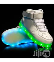 LED White Canvas for Kids | Children's Shoes for sale in Lagos State, Lagos Island