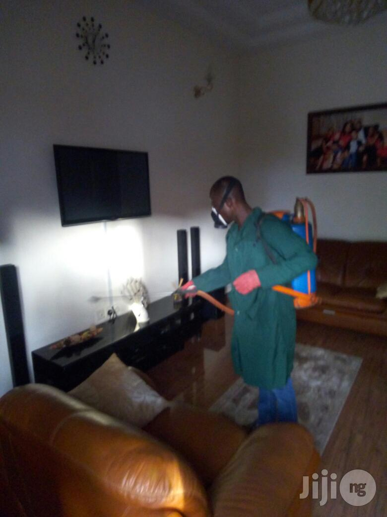 Archive: Cleaning/Fumigation/Tiles Polishing
