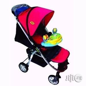Baby Stroller With Canopy Net and a Tray Toy Bar | Prams & Strollers for sale in Lagos State, Ajah