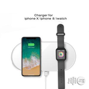 Dual Wireless Charger for iPhone X Iwatch   Smart Watches & Trackers for sale in Lagos State