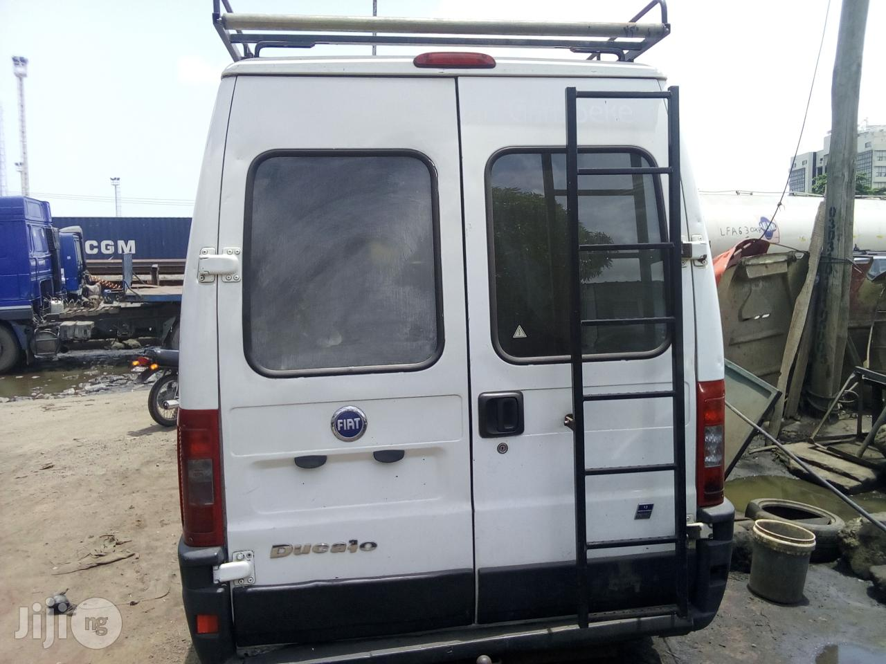 Fiat Ducato 2008 2.8 JTD White   Buses & Microbuses for sale in Apapa, Lagos State, Nigeria