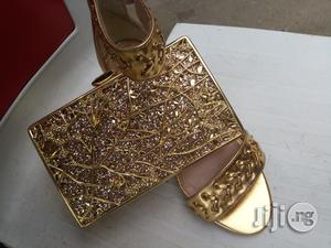 Italian Sandals And Clutch | Bags for sale in Lagos State, Lagos Island (Eko)