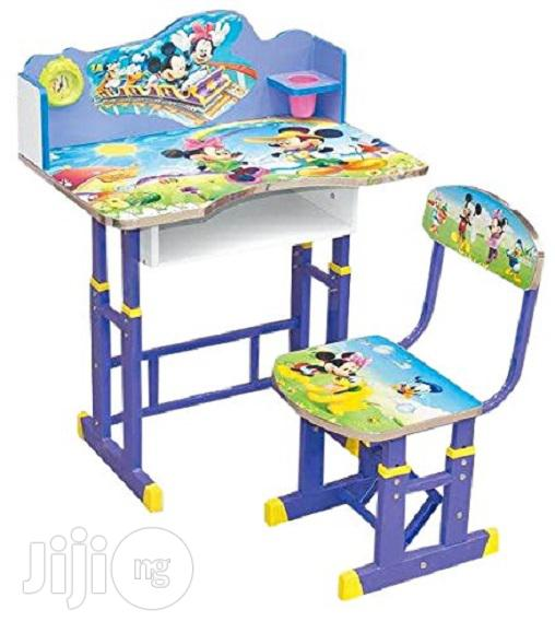 Adjustable Study Table Chair for Children (4-12years)